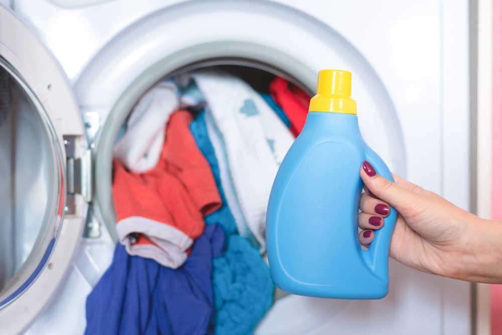 El autoservicio de lavandería